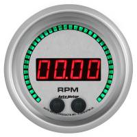 "Digital Gauges - Digital Tachometers - Auto Meter - Auto Meter Ultra-Lite Elite Tachometer - Digital - Electric - 0-16000 RPM - 3-3/8"" - White Face"