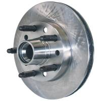 "Allstar Performance Brake Rotors - AllstarMustang II Brake Rotors - Allstar Performance - Allstar Performance Brake Rotor - Plain - 10.125"" OD - 0.812"" Thick - 5 x 5.00"" Bolt Pattern - 5/8-11"" Wheel Studs - Iron - Mustang II/Pinto"