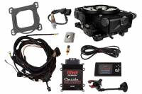 Fitech Fuel Injection - FiTech Go EFI Classic 550 HP EFI w/External ECU - Black