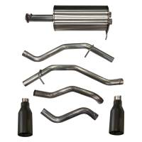 """Exhaust Systems - Dodge / Ram Truck - SUV Exhaust Systems - Corsa Performance - Corsa Sport Exhaust System - Cat-Back - 3"""" Diameter - Dual Rear Exit - 5"""" Polished Tips - Stainless - Natural - Crew/Quad Cab - 5.7 L"""