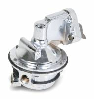 "Fuel Pumps - Mechanical - Small Block Chevrolet Fuel Pumps - Quick Fuel Technology - Quick Fuel Technology Mechanical Fuel Pump - 110 gph - 12-16 psi - 1/2"" NPT Female Inlet - 1/2"" NPT Female Outlet - Aluminum - Polished - E85/Gas/Methanol - Small Block Chevy"