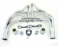 """Exhaust System - Doug's Headers - Doug's Headers - 1-5/8"""" Primary - 3"""" Collector - Steel - Natural - D Port Heads - Small Block Chevy - GM Fullsize SUV/Truck 1967-1987"""