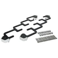 Ignition Coils Parts & Accessories - Ignition Coil Brackets - Allstar Performance - Allstar Performance Ignition Coil Bracket - Coil Pack Style - Aluminum - Black Anodize - Remote Mount - D580 - GM LS-Series (Pair)