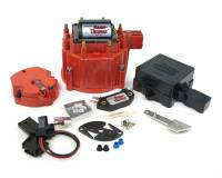 Distributor Components and Accessories - Distributor Tune Up Kits - PerTronix Performance Products - PerTronix Flame-Thrower Distributor Tune Up Kit - Cap/Coil/Dust Cover/Hardware/Module/Rotor/Vacuum Advance - Red - GM HEI Distributors