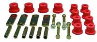 Bushings and Mounts - NEW - Leaf Spring Mounts and Brackets - NEW - Prothane Motion Control - Prothane Spring Shackle Bushing - Rear - Polyurethane - Red - GM F-Body 1967-81
