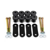 Bushings and Mounts - NEW - Leaf Spring Mounts and Brackets - NEW - UMI Performance - UMI Performance Poly Leaf Spring Shackel Kit