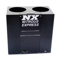 Nitrous Oxide System Components - Nitrous Oxide Bottle Heaters - Nitrous Express - Nitrous Express Nitrous Oxide Bottle Heater - Bath Style - Dual Bottle - Automatic - Thermostatically Controlled - Plastic - Black - 10 lb./12 lb./15 lb. Bottles