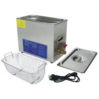 """Shop Equipment - NEW - Parts Washer - NEW - Allstar Performance - Allstar Performance Ultra Sonic Part Washer - 11-3/4 x 6 x 5"""" Internal Dimension - 1 Gallon Capacity - Silver - Basket Included"""