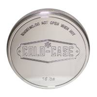 Radiator Accessories and Components - Radiator Caps - Cold-Case Radiators - Cold-Case Radiator Cap Cover - Press Fit - Aluminum - Polished - Cold Case Radiator Caps