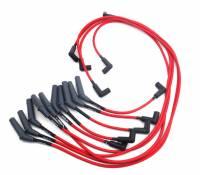 Ignition & Electrical System - JBA Performance Exhaust - JBA Spiral Core Spark Plug Wire Set - 8 mm - Red - Stock Boots - Mopar V10 - Dodge Fullsize Truck 1994-98