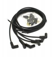 Spark Plug Wires - PerTronix Flame-Thrower 7mm Stock Look Spark Plug Wire Sets - PerTronix Performance Products - PerTronix Flame-Thrower Spark Plug Wire Set - 7 mm - Black - 90° Plug Boots - Socket Style - Universal 6 Cylinder