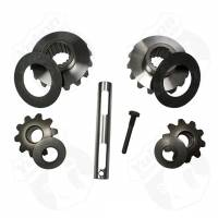 "Differential Carrier Components - Differential Spider Gears - Yukon Gear & Axle - Yukon Spider Gear Kit - Hardware/Pinion Shaft/Spider Gears/Washers - Open 17 Spline - 8.4"" - GM 10 Bolt"