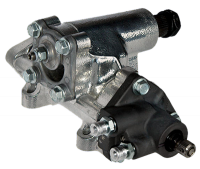 Steering Components - Turn One Steering - Turn One Steering Power Steering Box - 600 Series - 12 to 1 Ratio - Iron - Natural - GM