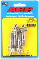 """Accessory Bolts and Studs - Accessory Studs - ARP - ARP Stud - 10 mm x 1.50 and 10 mm x 1.25 Thread - 2.17"""" Long - Broached - Stainless (Set of 4)"""
