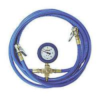Tools & Pit Equipment - Taylor Cable Products - Taylor T.P.E. Tire Pressure Equalizer - 0-30 psi - Analog - Chucks/Gauge/Hoses - 1/2 lb. Increments