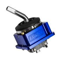 Shifters and Components - Manual Transmisson Shifters - B&M - B&M Precision Sport Shifter Shifter - Manual - Short Throw - Aluminum - Blue Anodize - NSG370 - Jeep Wrangler JK/TJ 2005-18