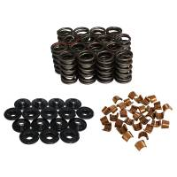 """Camshafts and Valvetrain - Valve Spring and Retainer Kits - Howards Cams - Howards Cams Valve Spring Kit - Single Spring/Damper - 348 lb./in. Rate - 1.150"""" Coil Bind - 1.514"""" OD - Steel Cups/Locks/Retainers"""