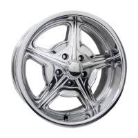 "Wheels and Tire Accessories - Billet Specialties - Billet Specialties Speedway Wheel - 18 x 7"" - 4.250"" Backspace - 5 x 4.75"" - Polished"