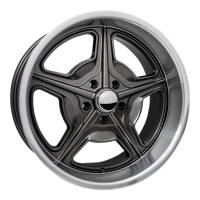 "Wheels and Tire Accessories - Billet Specialties - Billet Specialties Speedway Wheel - 18 x 7"" - 4.250"" Backspace - 5 x 4.75"" - Gray"