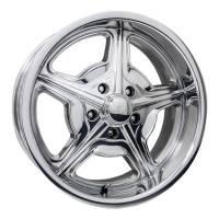 "Wheels and Tire Accessories - Billet Specialties - Billet Specialties Speedway Wheel - 20 x 8.5"" - 4.750"" Backspace - 5 x 5.00"" - Polished"