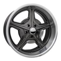 "Wheels and Tire Accessories - Billet Specialties - Billet Specialties Speedway Wheel - 20 x 8.5"" - 5.500"" Backspace - 5 x 4.75"" - Gray"