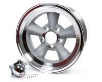 "American Racing Wheels - American Racing VN309 Torq-Thrust Wheels - American Racing Wheels - American Racing Torq Thrust Original Wheel - 15 x 7"" - 3.75"" Backspace - 5 x 4.75"" - Machined"