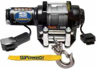"Trailer & Towing Accessories - Superwinch - Superwinch LT3000 Winch - 3000 lb. Capacity - Roller Fairlead - 12 Ft. Remote - 3/16"" x 50 Ft. Steel Rope - 12V"