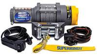 Trailer & Towing Accessories - Superwinch - Superwinch Terra Winch - 3500 lb. Capacity - Roller Fairlead - 10 Ft. Remote - 13.64 mm x 50 Ft. Steel Rope - 12V