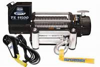 "Superwinch - Superwinch Tiger Shark 11500 Winch - 11500 lb. Capacity - Roller Fairlead - 12 Ft. Remote - 3/8"" x 84 Ft. Steel Rope - 12V"