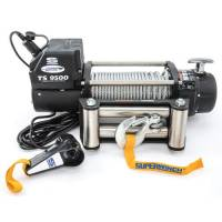 "Superwinch - Superwinch Tiger Shark 9500 Winch - 9500 lb. Capacity - Roller Fairlead - 12 Ft. Remote - 21/64"" x 95 Ft. Steel Rope - 12V"