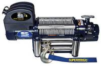 "Superwinch - Superwinch Talon 12.5 Winch - 12500 lb. Capacity - Roller Fairlead - 15 Ft. Remote - 3/8"" x 85 Ft. Steel Rope - 12V"