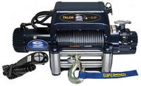 "Superwinch - Superwinch Talon 9.5i Winch - 9500 lb. Capacity - Roller Fairlead - 15 Ft. Remote - 3/8"" x 85 Ft. Steel Rope - 12V"