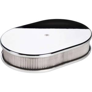 "Air Cleaner Assemblies - Oval Air Cleaner Assemblies - 11-7/8"" x 8-3/8"" Oval Air Cleaner Assemblies"