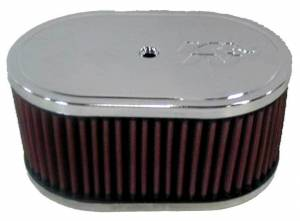 "Air Cleaner Assemblies - Oval Air Cleaner Assemblies - 7"" x 4-1/2"" Oval Air Cleaner Assemblies"