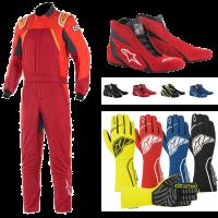 Alpinestars - Alpinestars GP Pro Comp Suit Package - Scarlet/Red/Orange Fluo - Image 1