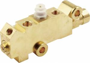 Brake System - Master Cylinders-Boosters and Components - Brake Combination Valves