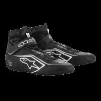 Alpinestars Tech-1 Z v2 Shoe - Black/White/Silver - Size 9.5