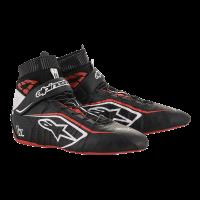 Alpinestars Tech-1 Z v2 Shoe - Black/White/Red - Size 10