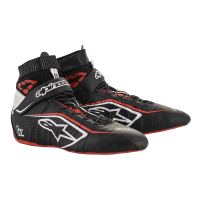 Alpinestars Racing Shoes - ON SALE! - Alpinestars Tech 1-Z v2 Shoe - SALE $254.95 - SAVE $45 - Alpinestars - Alpinestars Tech-1 Z v2 Shoe - Black/White/Red - Size 8