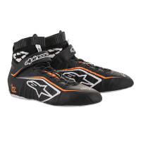 Alpinestars Racing Shoes - ON SALE! - Alpinestars Tech 1-Z v2 Shoe - SALE $254.95 - SAVE $45 - Alpinestars - Alpinestars Tech-1 Z v2 Shoe - Black/White/Orange Fluo - Size 10.5