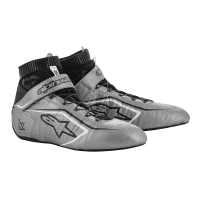 Alpinestars Tech-1 Z v2 Shoe - Silver/Black/White - Size 9.5