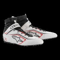 Alpinestars Tech-1 Z v2 Shoe - White/Black/Red - Size 10