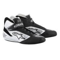 Alpinestars Tech-1 T Shoe - Black/Silver - Size 9.5