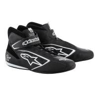 Alpinestars Tech-1 T Shoe - Black/White - Size 9.5