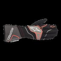 Alpinestars Tech 1-ZX v2 Glove - Black/Anthracite/Red - Size XL