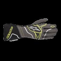 Alpinestars Tech 1-ZX v2 Glove - Anthracite/Yellow Fluo/Black - Size M