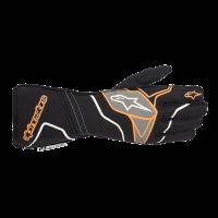 Alpinestars Tech 1-ZX v2 Glove - Black/Orange Fluo - Size L
