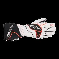 Alpinestars Tech 1-ZX v2 Glove - White/Black/Red - Size M