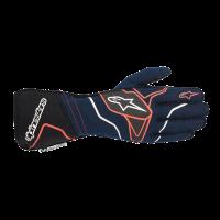 Alpinestars Tech 1-ZX v2 Glove - Navy/Black/Red - Size XL
