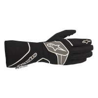 Alpinestars Tech 1 Race v2 Glove - Black/White - Size M